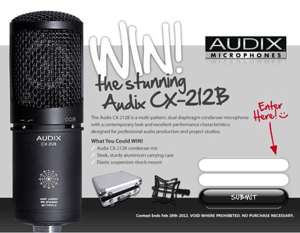 Win a FREE Audix Microphone