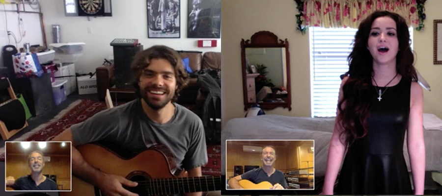 Webcam-lessons